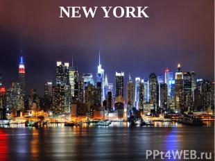 Презентация на тему нью йорк