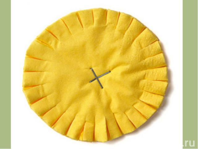 Как сделать одуванчики из салфеток своими руками