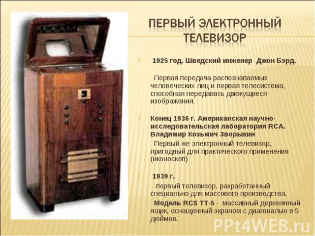 Музей телевидения и радио в интернете - Персоналии