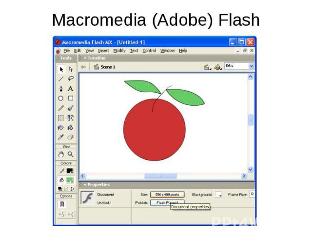 Macromedia flash анимации : Коллекция иллюстраций