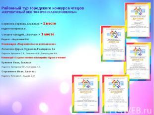 Борисова Варвара, 12а класс – 1 место Борисова Варвара, 12а класс – 1 место Педа