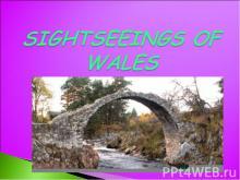 Sightseeings of wales