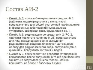 Состав АИ-2 Гнездо N 0: противобактериальное медикаменты N 0 (таблетки хлортетрацик