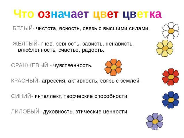 Что означает когда человек рисует цветочки