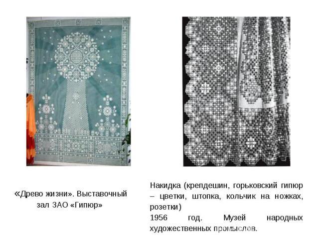 Выставочный зал ЗАО «Гипюр»
