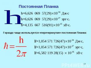 гипотеза планка о квантах. презентация