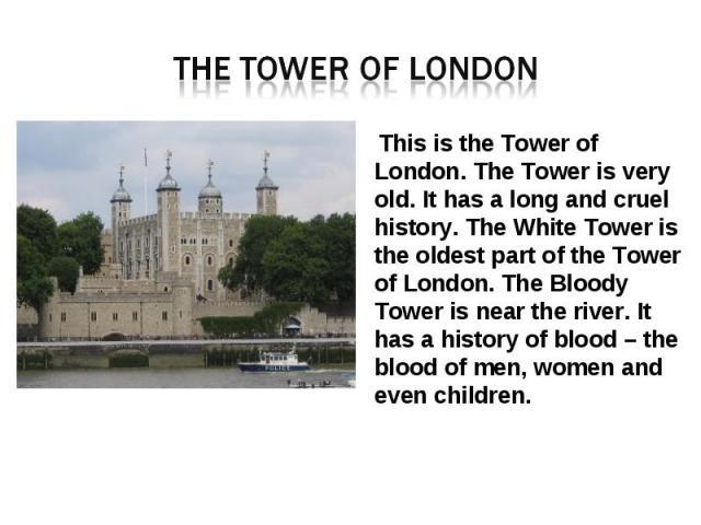Презентация На Английском Языке Про Лондон Скачать