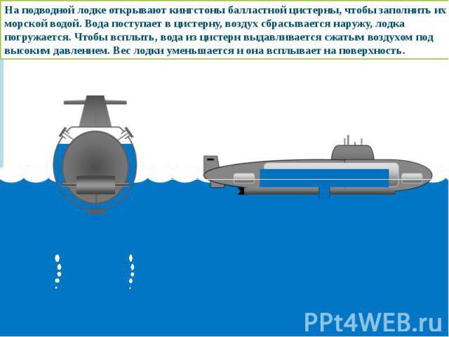 генератор для подводной лодки