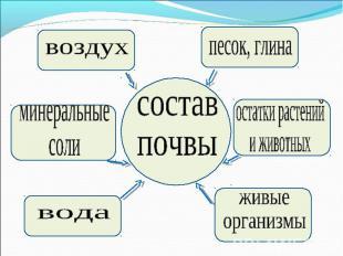 презентация урока. почва. 3 класс
