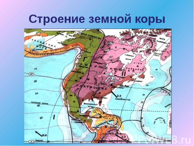 Рельеф и полезные ископаемые россии