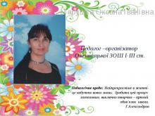 Марушка Оксана Іванівна