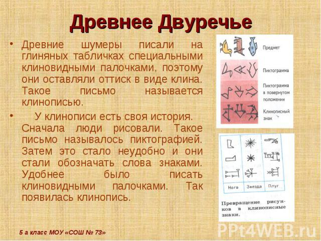 презентация об истории писем