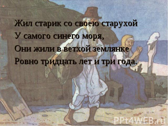 как старуха называла старика в сказке о рыбаке и рыбке