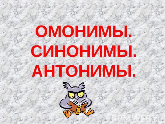 Скачать презентацию по русскому языку 2 класс на тему синонимы и антонимы