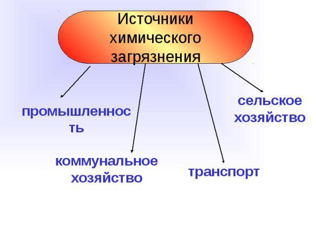 презентация по теме химические загрязнения и отравления