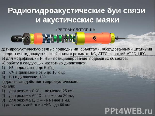 антенны для связи с подводными лодками