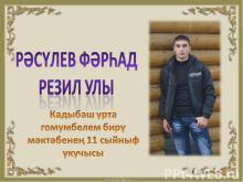 Расулев Фархад