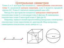скачать центральное симметрия