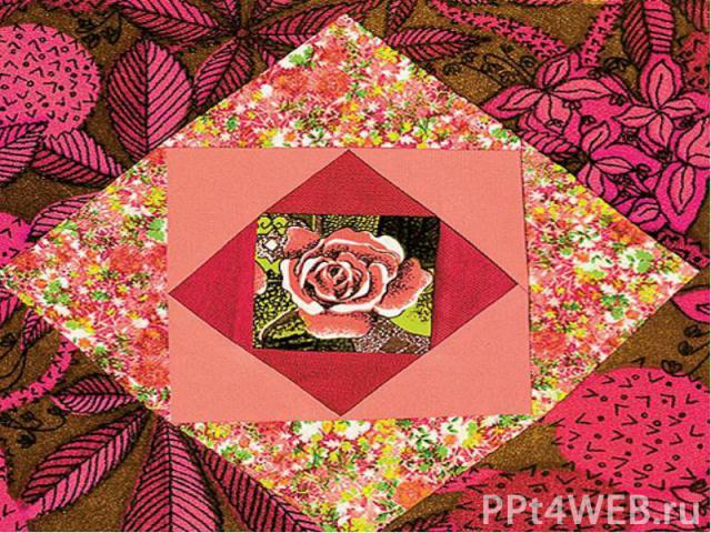 Лоскутная мозаика из ткани