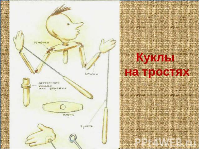Как сделать костыли для куклы
