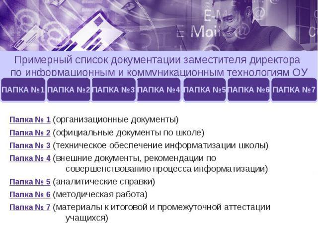 должностная инструкция зам директора по информационным технологиям