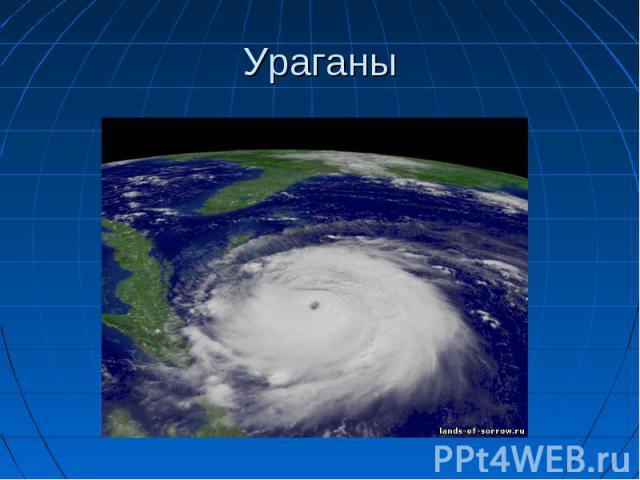 Скачать презентации по теме ураган