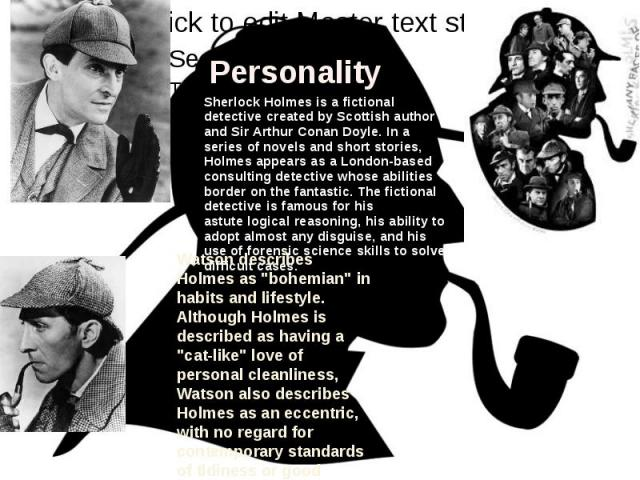 Sherlock holmes stories typical of detective fiction essay