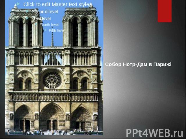 Собор Нотр-Дам в Парижі