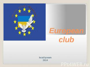 European club local lyceum 2014
