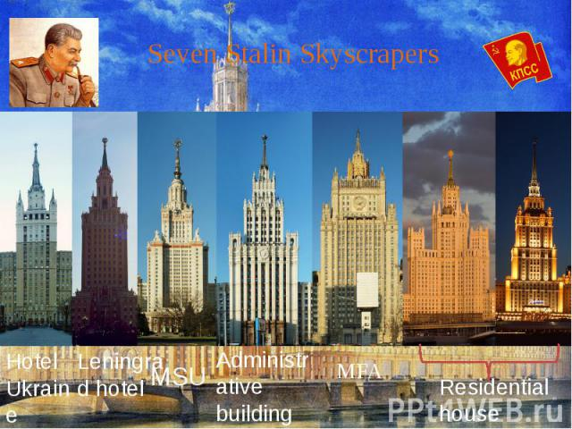 Seven Stalin Skyscrapers