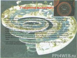 Утворення кооцерватів 2. Синтез органічних полімерів, що здійснювався з наявних