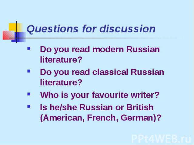 russian history questions