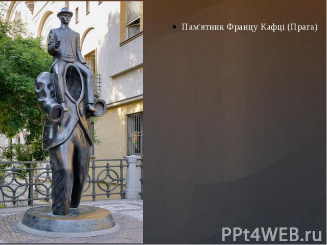 Пам'ятник Францу Кафці (Прага)