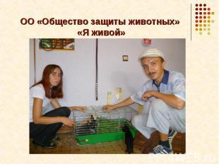 ОО «Общество защиты животных» «Я живой»
