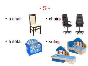 a chair a chair