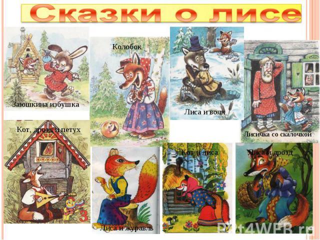 Сказки о лисе
