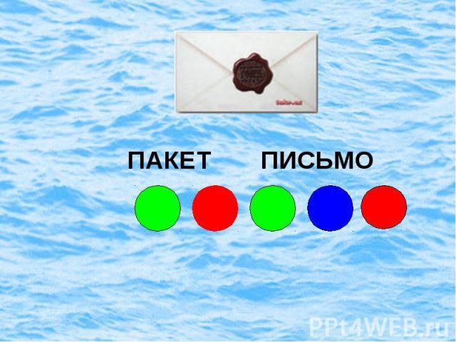 ПАКЕТ ПИСЬМО
