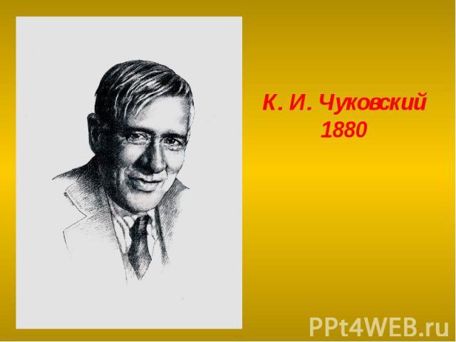К. И. Чуковский1880