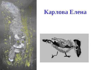 Карлова Елена
