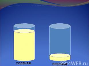 Соотношение воды на Земле.