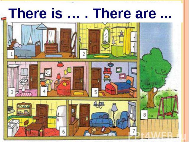 There is … . There are ...