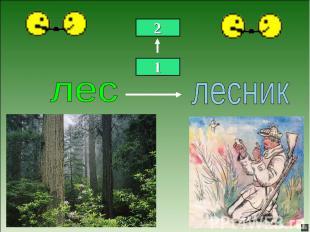 лес лесник