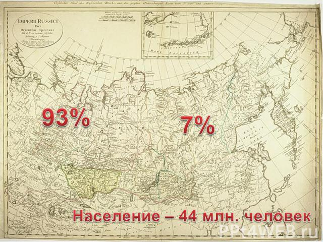 Население – 44 млн. человек