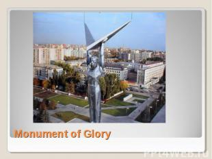Monument of Glory