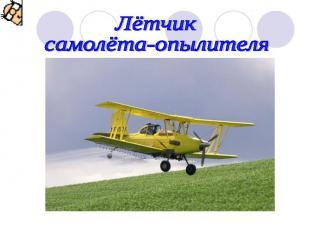 Лётчик самолёта-опылителя