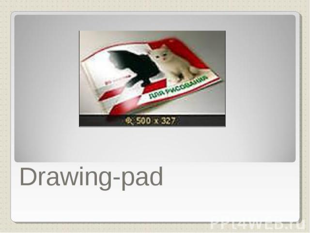Drawing-pad
