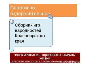 Спортивно-оздоровительное Сборник игр народностей Красноярского края ФОРМИРОВАНИ