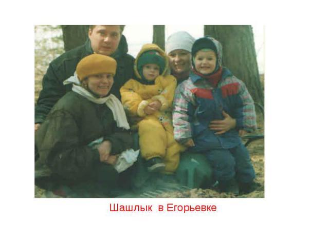Шашлык в Егорьевке