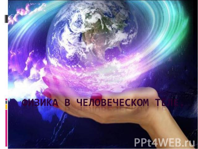 Физика в человеческом теле