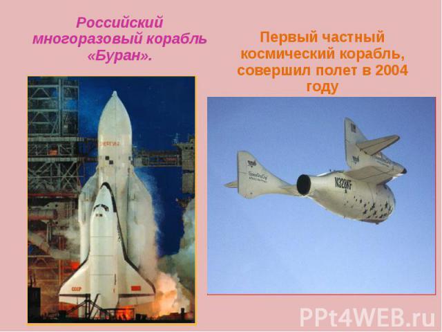 Российский многоразовый корабль «Буран». Российский многоразовый корабль «Буран».